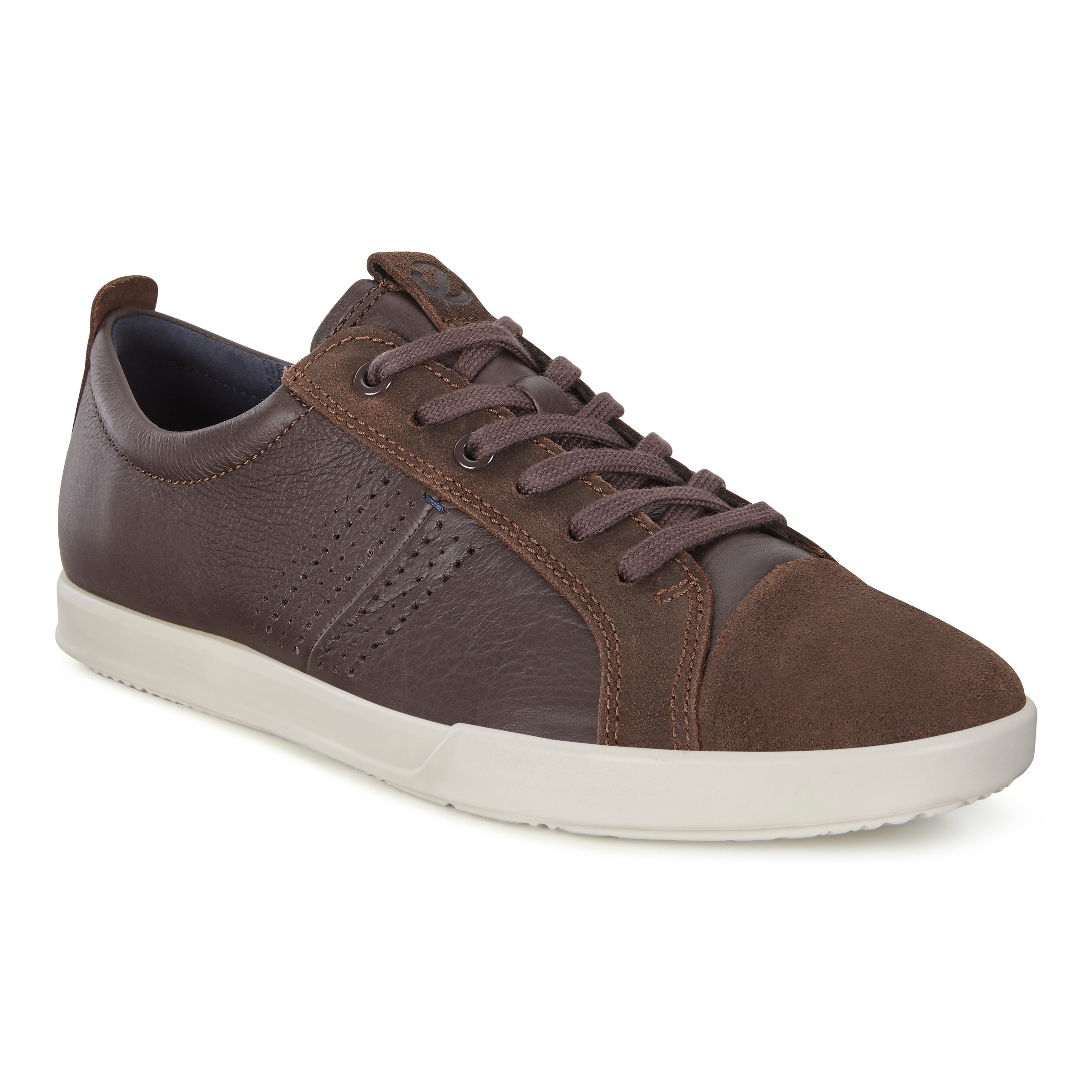 Details about ECCO COLLIN 2.0 Yak Leather Sneaker Breathable FLUIDFORM™ ECFS™ Walking Shoes