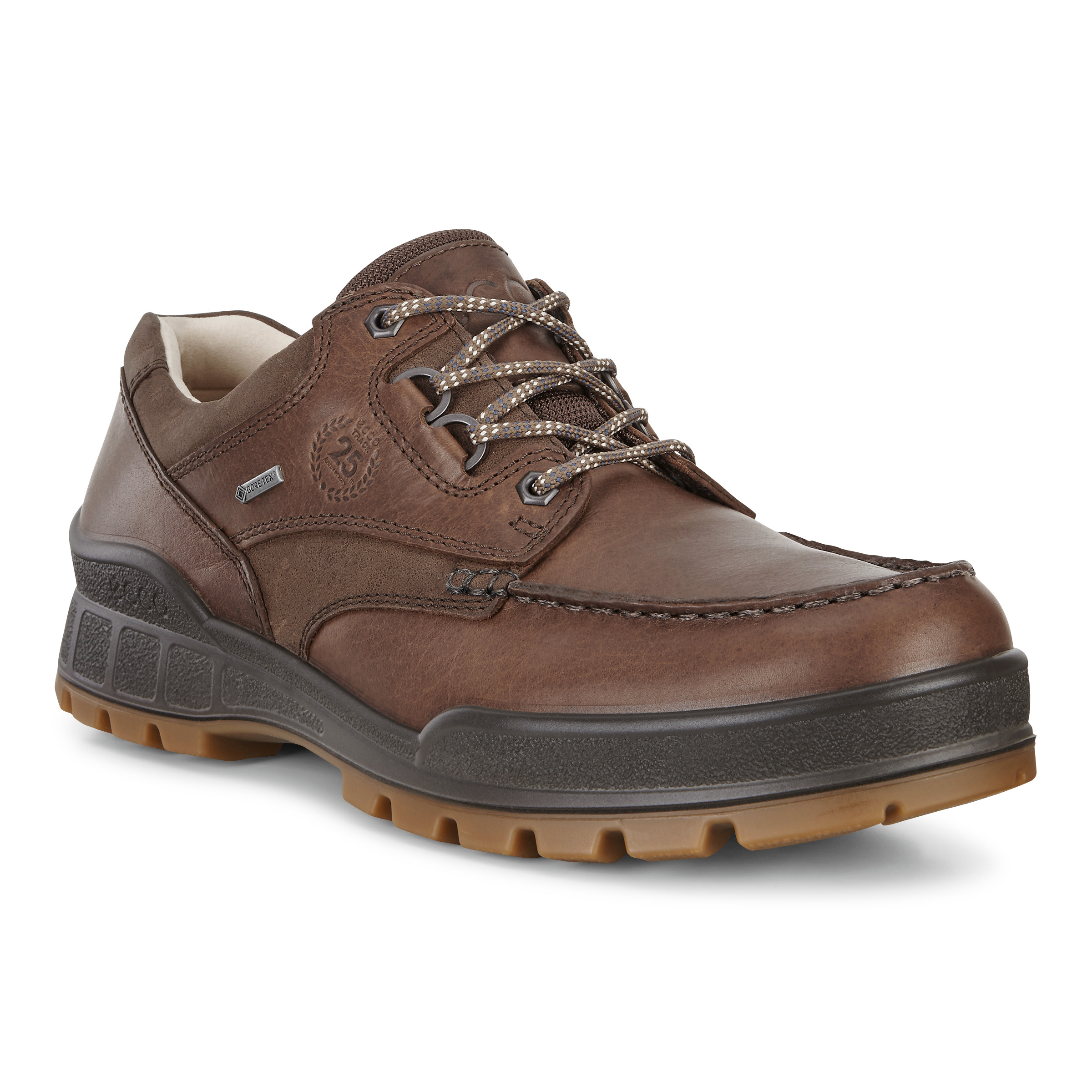 Details about ECCO TRACK 25 GORE TEX® Oiled Nubuck Leather Outdoor Hiking Boots Shoes